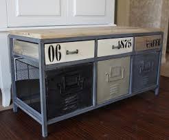 metal storage bench.  Metal Metal Industrial Locker Style Storage Bench  Melody Maison Throughout Storage Bench 2