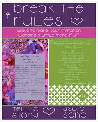 the rules of wedding invitation wording} break or follow Wedding Invitation Wording Quirky i would like to interrupt our regular wednesday trendsday schedule with a little bit of wedding invitation wording etiquette it's a touchy subject because wedding invitation wording quirky
