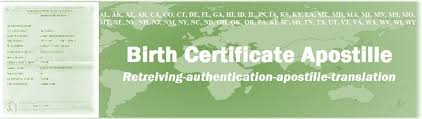 Birth Certificate Apostille Apoling Solutions Brooklyn Nyc