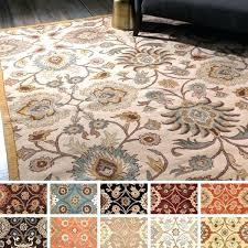 10x14 wool area rugs hand tufted rug green 10 x 14