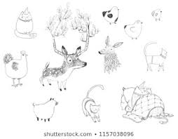 Sketches Animal Royalty Free Sketch Animal Images Stock Photos Vectors Shutterstock