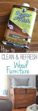 no staining sanding or painting necessary with this easy trick here s the easy way to refresh your tired wood furniture