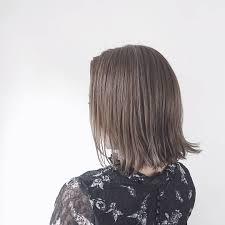 アラサー髪型2018ボブショートで夏も涼しく丸顔や面長ならどうする