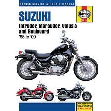 Haynes Repair Manual - Suzuki Intruder/Marauder/VL800 Volusia ...