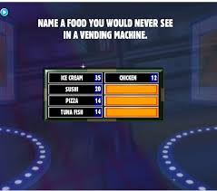 Name A Food You Never See In A Vending Machine Mesmerizing Name A Food You Would Never See In A Vending Machine Family Feud