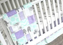 purple crib bedding set zoom purple and grey crib bedding sets