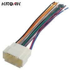 online get cheap honda radio harness aliexpress com alibaba group Honda Radio Wiring Harness car stereo cd player wiring harness wire adapter plug for honda suzuki aftermarket radio install honda radio wiring harness diagram