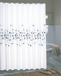 marvelous design extra long fabric shower curtain classy idea carnation home fashions inc wide curtains
