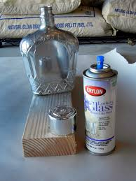 How To Decorate Empty Liquor Bottles Painted Liquor Bottle and then upcycle it into a vase or a liquid 14
