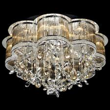 arrow decorative 24 light led g4 ceiling crystal chandelier in amber