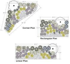 Small Picture lanscape grouping plans Easy Planting Plans for the