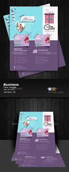 Pamphlet Designs For Stationery Shop Download Free Graphicriver Gift Shop Flyer Design A4flyer