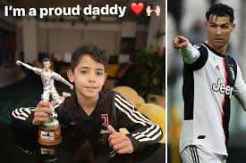 Cristiano Ronaldo Jr, 9, makes Juventus star dad proud with ...