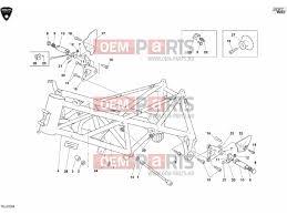 ducati 999 rs frame frame alkatrészek > oem parts hu ducati 999 rs frame frame