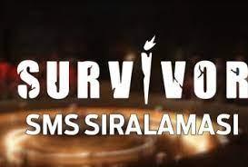 Peki 10 mart survivor'da kim elendi? Survivor Sms Siralamasi
