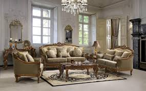 Fancy Crystal Chandelier With Elegant Sofa Set For Impressive Living Room  Ideas Using Italian Interior Design