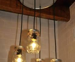 jar chandelier jar light fixture rustic mason jar chandelier mason jar chandelier pendant light fixture beautiful