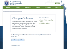 Change Of Address Who To Notify Stay In Touch With Uscis Change Your Address Uscis