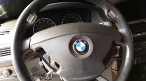 BMW Convertible 2004 bmw 750 : BMW 745 750 - Sport Steering Wheel Airbag Removal - YouTube
