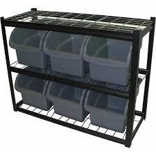edsal steel bin shelving unit ibu421633