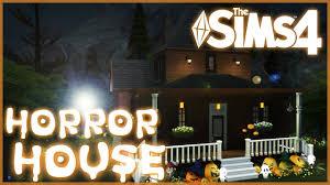 création sims 4 la maison de l horreur sd build