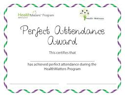 Free Printable Perfect Attendance Certificate Template Classy Perfect Attendance Certificate Template Word Award Thaimailco