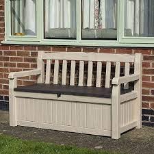 storage bench box diy at b q