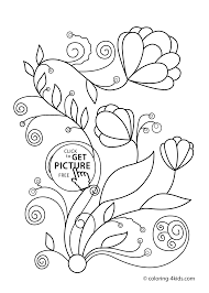 Small Picture daily coloring pages free flower printables Archives Best