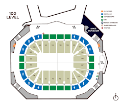 Smoothie King Arena Seating Chart Maps Levels Smoothie King Center