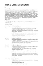 Mri Service Engineer Sample Resume