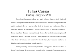 julius caesar gcse english marked by teachers com document image preview