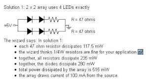 help me understand wiring leds penny arcade i m trying to understand the basics of this and am having a little trouble using an online calculator thing i got this schematic