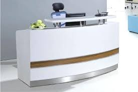 salon reception desk furniture wonderful small curved used reception desk beauty salon view reception desk with