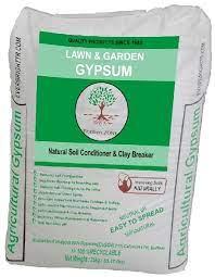 natural powdered gypsum fertilizer for