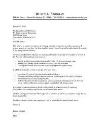 Samples Of Good Cover Letters Sample For Account Supervisor Cover