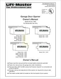 1 3 hp garage door opener chamberlain garage door opener manual garage door opener manual chamberlain