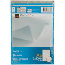A5 Graph Paper Pads 2 Pieces Coop Coop Home
