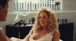 Sharon Stone nude nipple and hot Lycia Naff funny Total Recall.