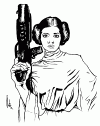 Small Picture Princess leia star wars Coloring Pages Princess leia star wars