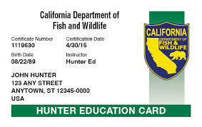 Online com™ Safety Hunter-ed Course California Hunter