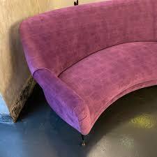 italian gigi radice style purple velvet