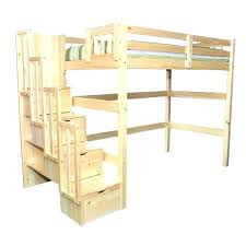 Bunk Bed With Stairs Image Of Queen Size Loft Bed Stair Bunk Bed