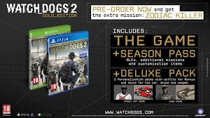 Watch Dogs 2 Editions Chart 2019