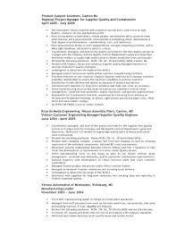 Quality Engineer Resume Inspiration Quality Engineer Resume Sample Radiovkmtk