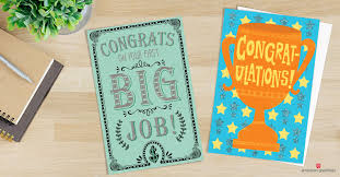 American Greetings Templates American Greeting Cards Employment Congratulations Messages