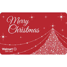 Gift Cards For Christmas Walmart Christmas Gift Card Gift Cards