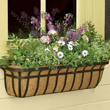 Decorative Window Boxes Decorative Metal Window Boxes Planters Buy Window Box CageIron 35
