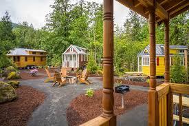 tiny house vacations. Mount Hood Tiny House Village Vacations