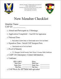 Civil Air Patrol Super Chart New Cadets