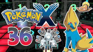 Let's Play Pokemon X Part 36: Elektrische Quiz-Arena - YouTube